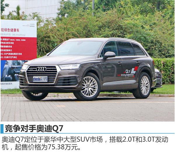 红旗全新C级SUV定名HS7 将竞争奥迪Q7-图1