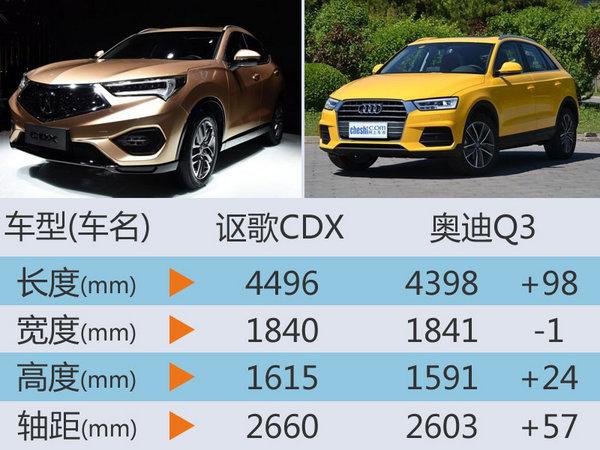 讴歌入门SUV将国产 搭小排量增压发动机高清图片