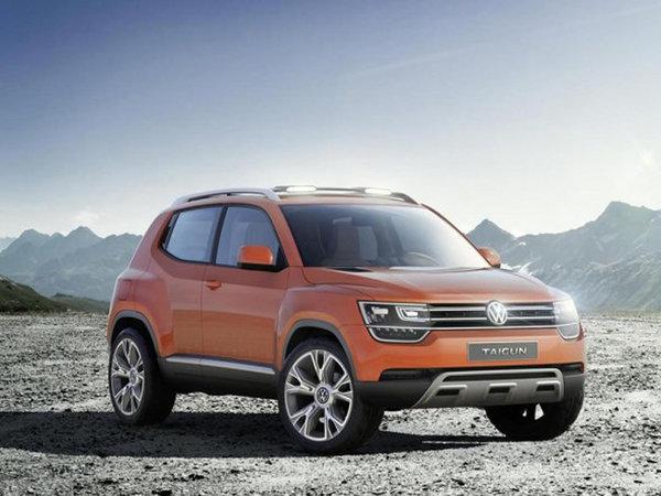 小型 中型SUV 大众确认将推新SUV车型高清图片