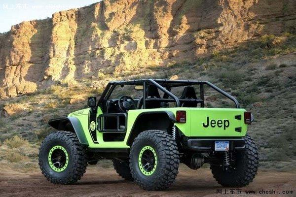 jeep牧马人越野车价格