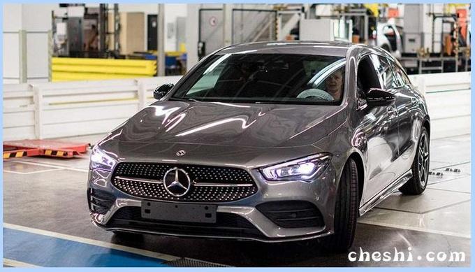 奔驰全新CLA旅行车开始生产 动力升级/9月交车-图1