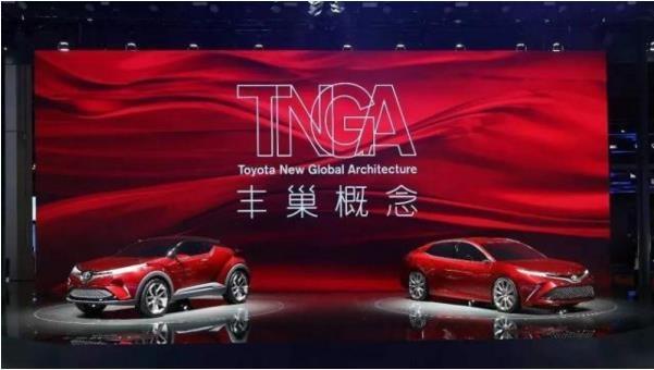 TNGA照耀前行 丰田正在马路中央发着光-图3