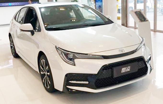 广汽丰田新款雷凌上市 11.58万元起-整体配置提升-图1