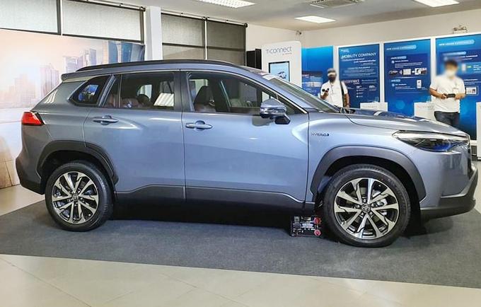 丰田卡罗拉推SUV版 比C-HR尺寸更大/有望入华-图2