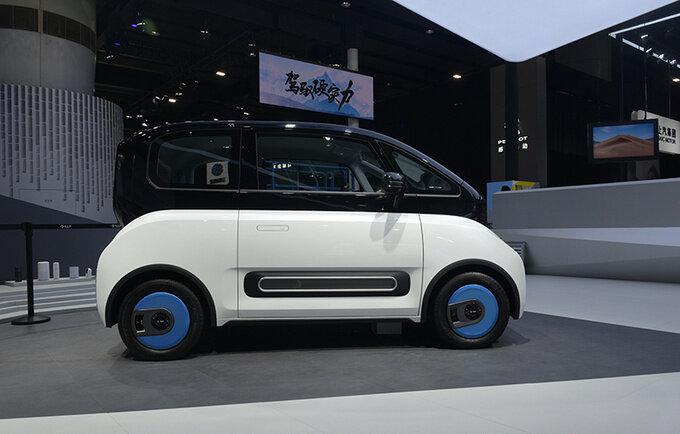 2020广州车展前瞻新宝骏E300苏宁小Biu多图实拍-图5