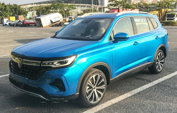 2020广州车展前瞻造型配置皆提升 新款荣威RX5 MAX实拍-图1