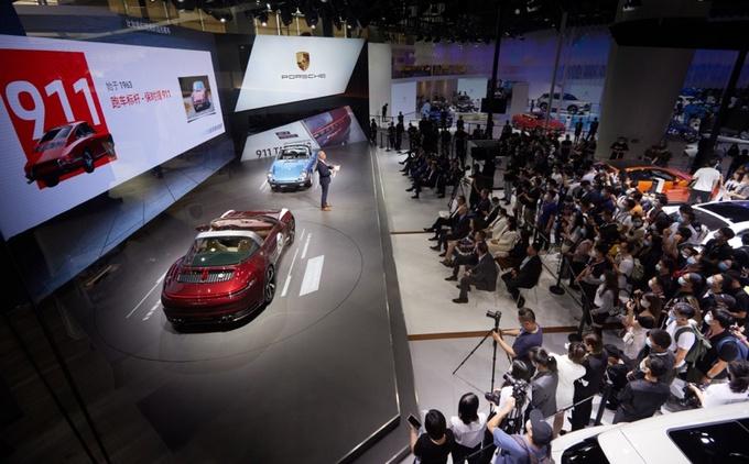 保时捷911 Targa 4S 经典重现特别版 广州车展首发-图12