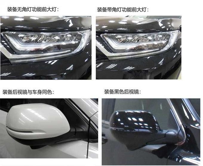 东风本田大改款CR-V实拍 尺寸提升/造型更运动-图3