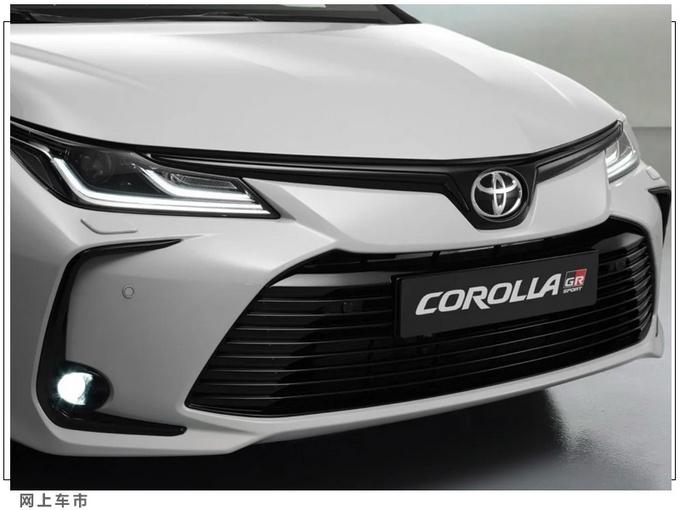 丰田卡罗拉运动版发布11月投产/搭1.8L混动引擎-图6