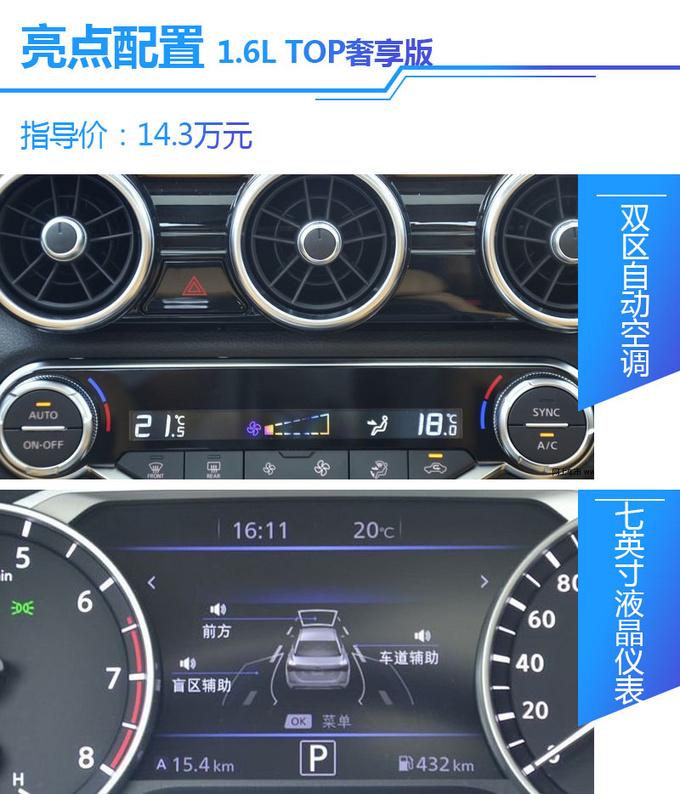 配置动力全面升级家用标杆全新轩逸哪款值得买-图12