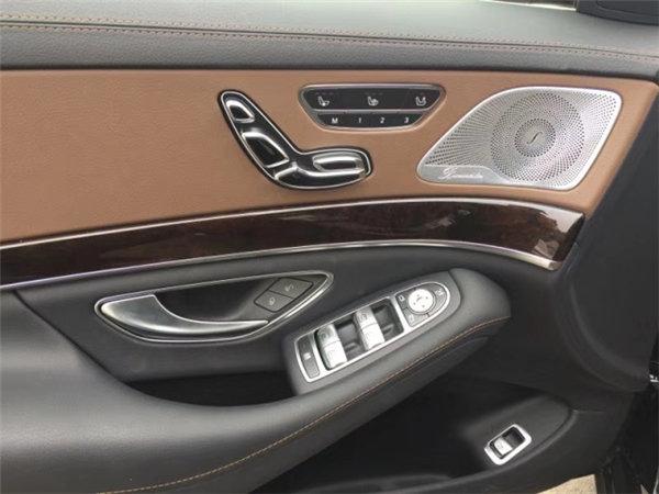 18款奔驰S450黑车棕内 125万享豪驾体验-图8