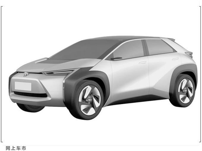 丰田全新小型跨界电动车曝光提供3级半自动驾驶-图2