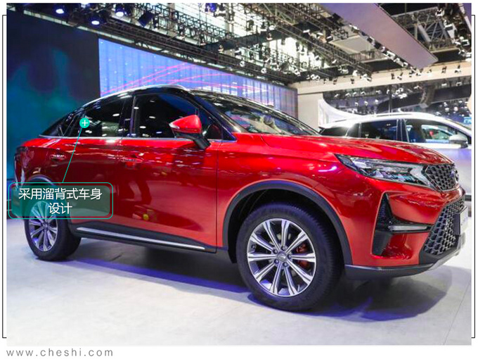 广汽传祺GS4轿跑SUV实拍车身加长2个月后上市-图2