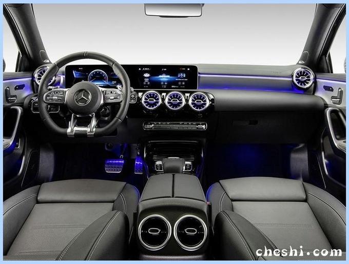 奔驰A性能版多图曝光尺寸加长/搭2.0T引擎-图3