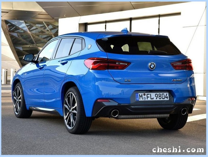 宝马新款X2实车曝光外观升级/竞争奔驰GLA-图3