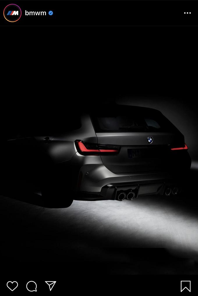 宝马将推旅行版M3 Touring 有望于2022年亮相-图1