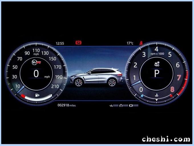 捷豹新款F-PACE实车曝光外观升级/竞争奔驰GLC-图8
