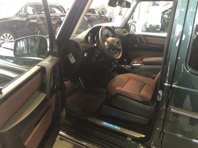 18款加版奔驰G550 汽油V8动力SUV气场强-图7