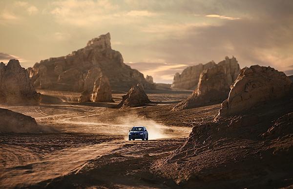 纵戈壁,逐星河 2020 BMW X3体验季展担当本色-图7