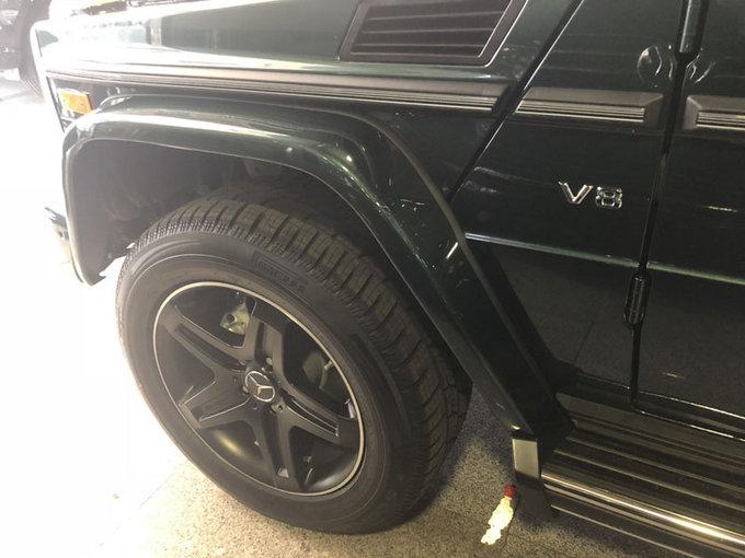 18款加版奔驰G550 汽油V8动力SUV气场强-图9