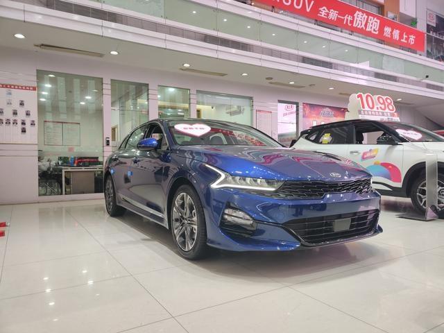 """全新起亚K5海外版东莞到店,""""国行版""""预计9月上市-图1"""