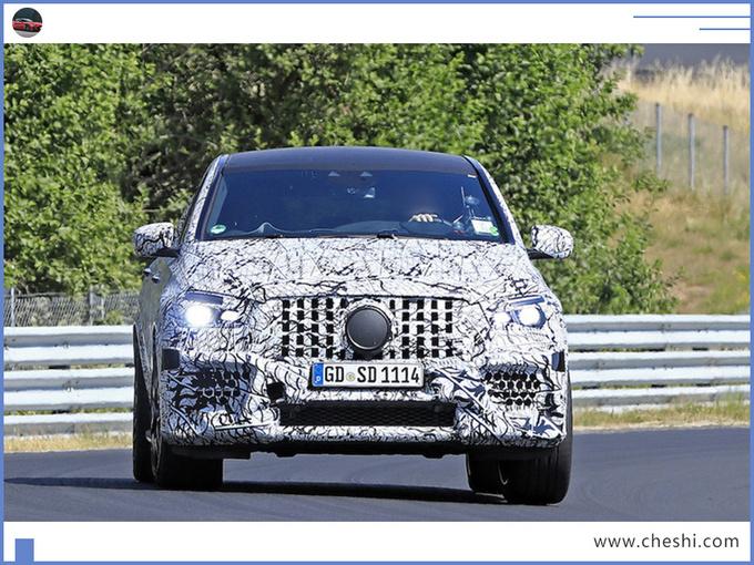 奔驰全新GLE轿跑性能版谍照 动力大涨超宝马X6-图3