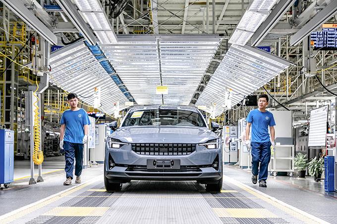 揭秘Polestar 2诞生地中国台州工厂 自动化/效率高-图3