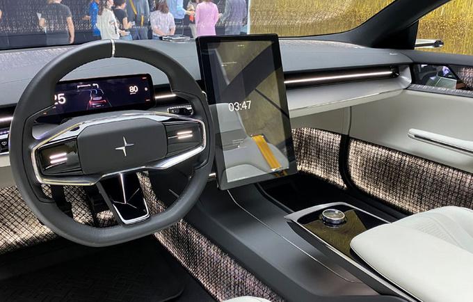 2020北京车展前瞻极星Precept概念车抢先看-图3