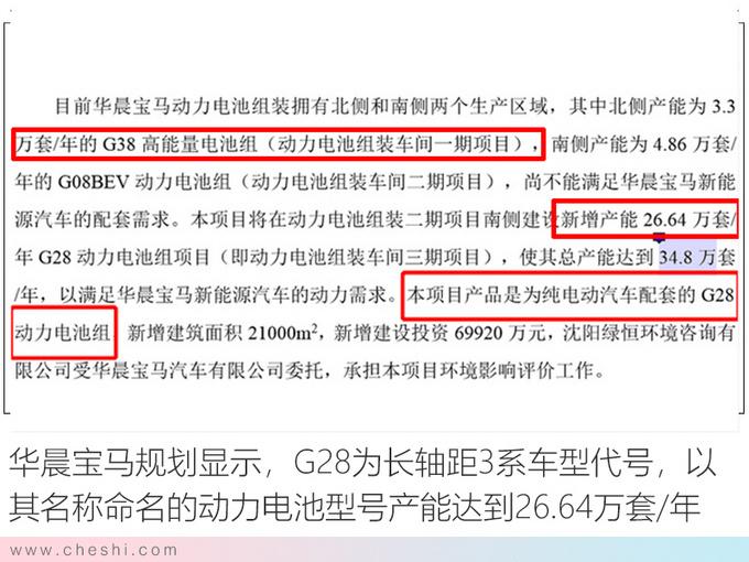 华晨宝马纯电3系续航600km 秒杀特斯拉Model 3-图1