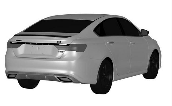 吉利缤瑞新车型曝光 或搭1.0T动力 价格更便宜-图4
