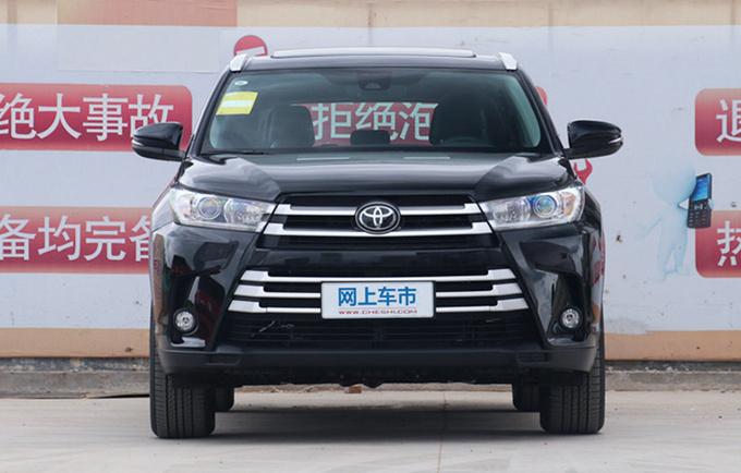 广汽丰田2021款汉兰达上市增全黑外观增配不加价-图3