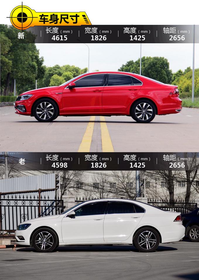 转帖-全系增配的宽体轿跑竟然不加价 凌渡新老对比