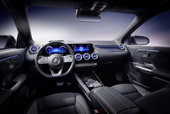 奔驰EQA首发 国产车型将搭双电机/续航超500公里-图5