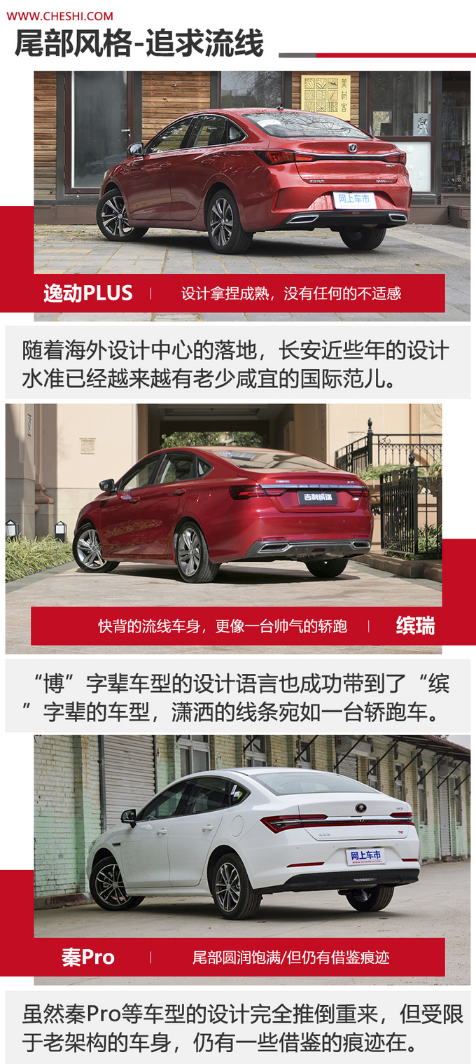 10万元家轿对比 长安/吉利/比亚迪谁更值得买-图3