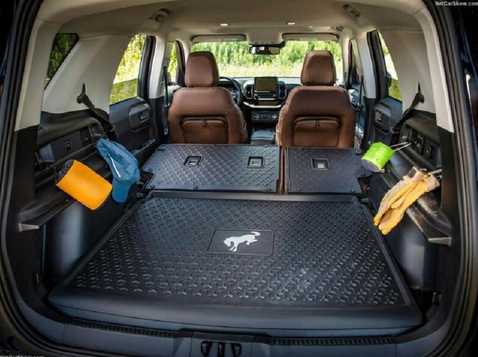 福特全新Bronco实拍搭2.0T动力/全系配四驱系统-图4