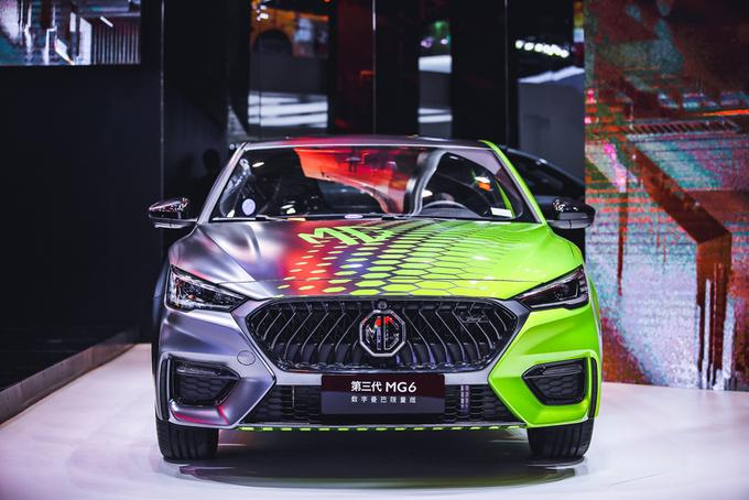 广州车展 百年国际品牌MG连发4款科技潮品新车-图7