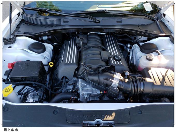 道奇战马性能版实拍搭6.4升V8引擎/加速性能卓越-图4
