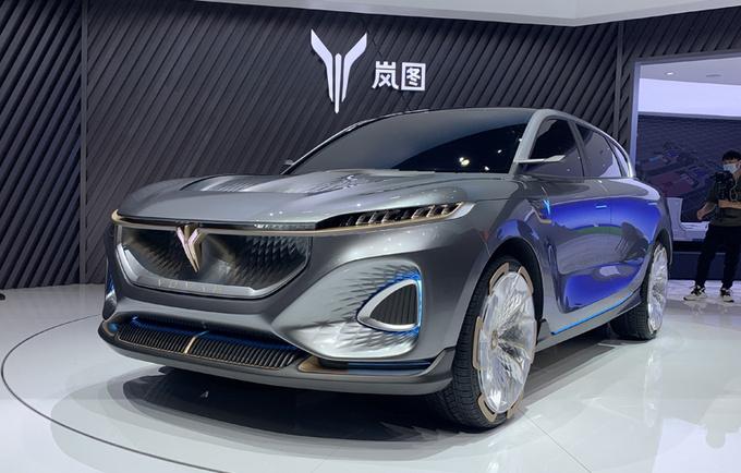 东风岚图概念车iFree亮相北京车展 5G座舱是亮点-图1