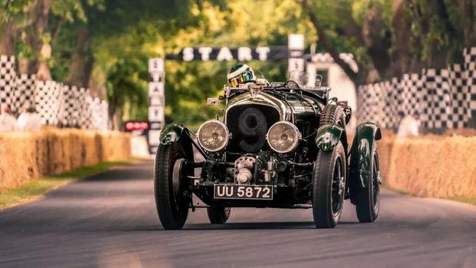 官方复刻 再现1929年宾利Bentley Blower赛车-图8