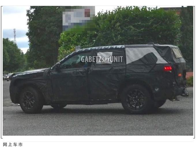 Jeep全新大切诺基谍照 格栅面积或更大/年内发布-图5