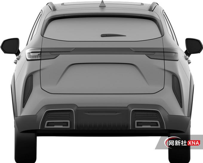 哈弗全新紧凑型SUV曝光采用插混系统 或12万起-图3