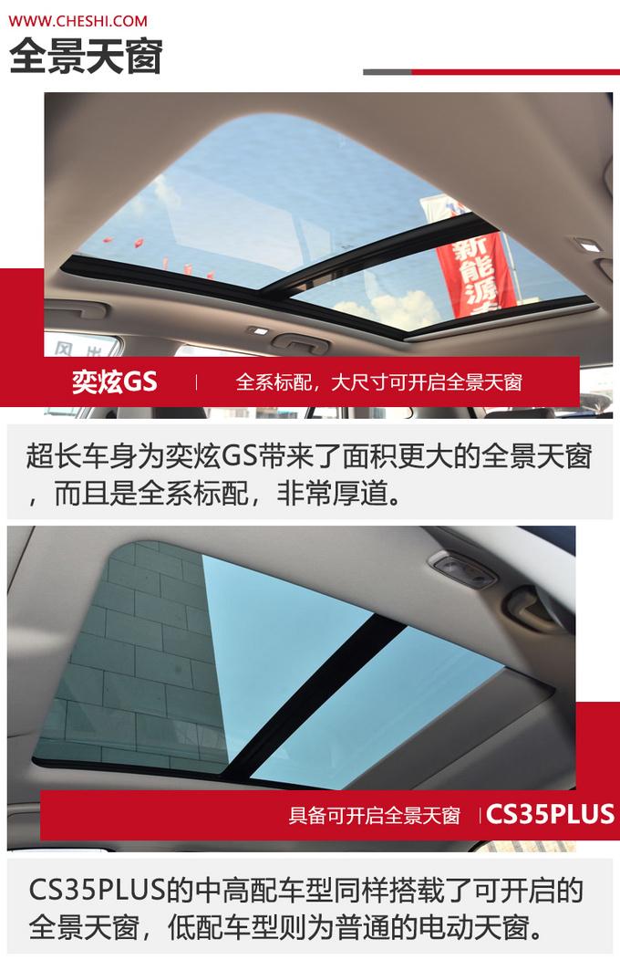 7-10万级SUV的标杆之争 当CS35PLUS遇上奕炫GS-图14