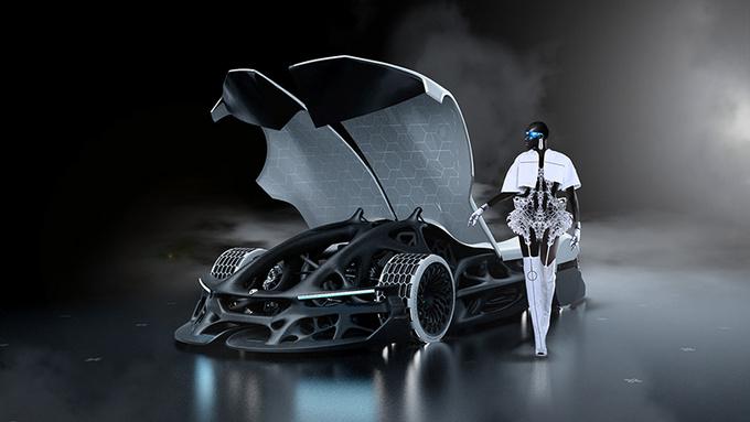 会呼吸的车 2080年的概念车会是什么样子-图6