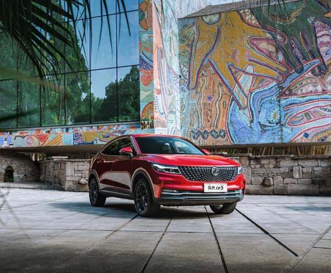 全新智能轿跑SUV风光ix5即将于10月31日正式上市