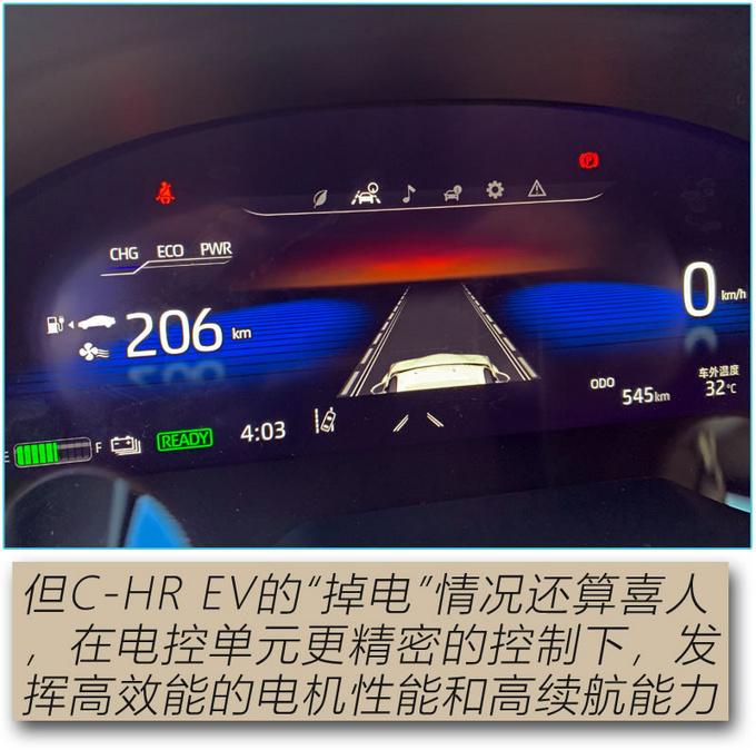 论纯电SUV的驾控表现 广汽丰田C-HR EV值得拥有-图20