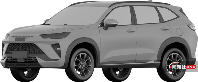哈弗全新紧凑型SUV曝光采用插混系统 或12万起-图1