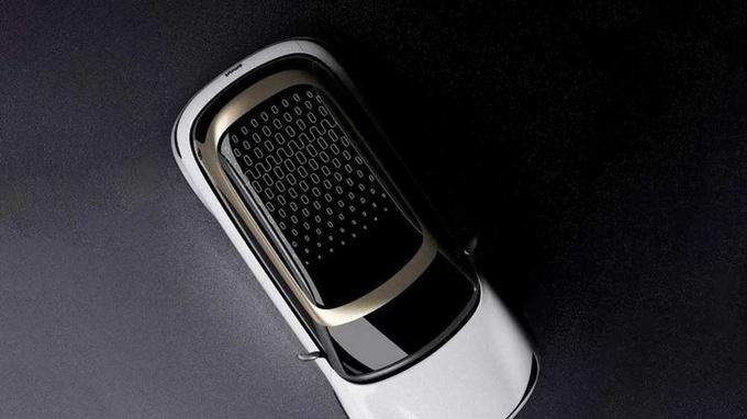 概念图曝光Smart推出电动SUV 即将亮相慕尼黑-图1