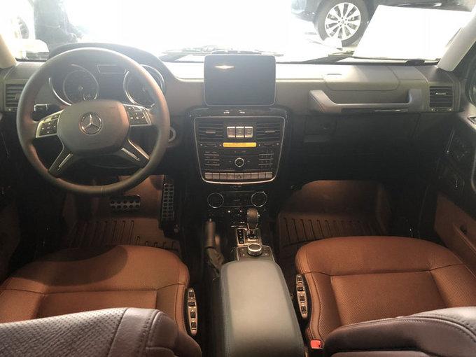 18款加版奔驰G550 汽油V8动力SUV气场强-图4