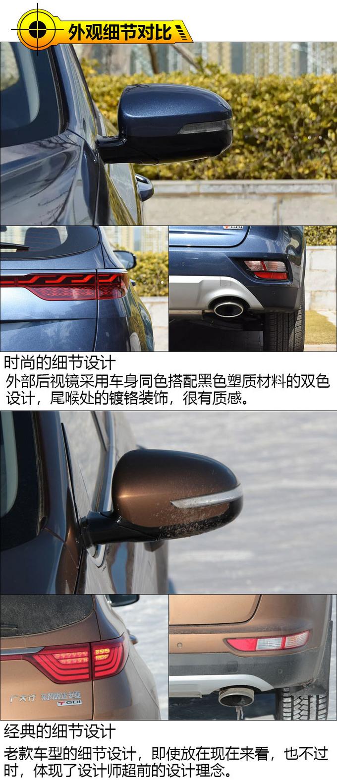 论高颜值汽车如何养成起亚新老KX5车型对比-图6