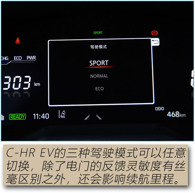 论纯电SUV的驾控表现 广汽丰田C-HR EV值得拥有-图8